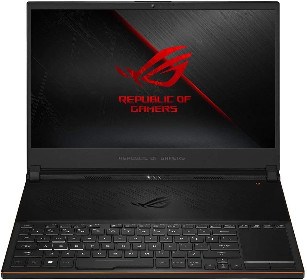 """2019 New ASUS ROG Zephyrus S Ultra Slim Gaming Laptop, 15.6"""" 144Hz IPS FHD Display, Intel Hexa-Core i7-8750H Processor up to 3.90GHz, 8GB GeForce GTX 1070 Max-Q, 16GB DDR4 RAM, 512GB PCIe SSD, Win 10"""