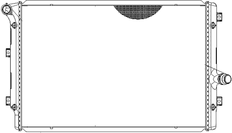 BEHR HELLA SERVICE 8MK 376 774-044 Radiador, refrigeración del motor