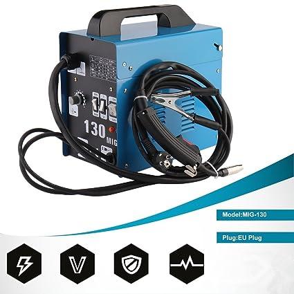 Electrodo sudor dispositivo 50 – 120 A, mig130 Inverter sudor dispositivo para fundente (sin