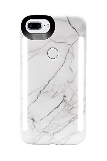 finest selection 96161 c8643 LuMee Duo Cell Phone Case for iPhone 8 Plus (also fits iPhone 7 Plus),  Illuminated LED, The Original and Authentic Celebrity Endorsed Light Up  Case - ...