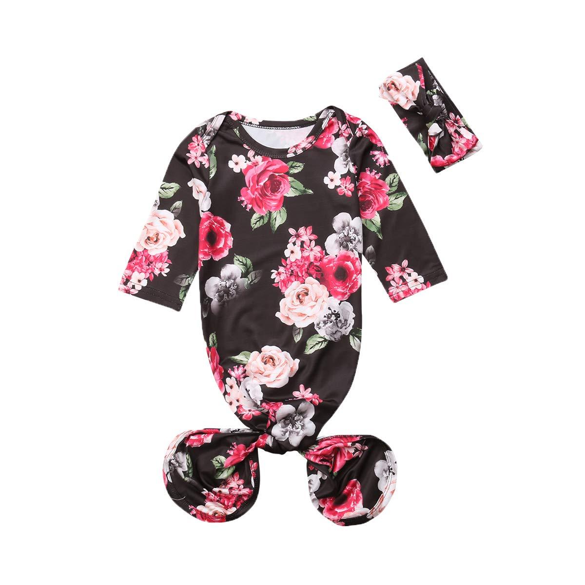 767a1d70ede8 Amazon.com  remeo suit 0-6Months Newborn Baby Floral Print Mermaid ...