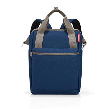 reisenthel Allrounder R Backpack, Secure Zipper, Two-Way Carry Handles, Dark Blue