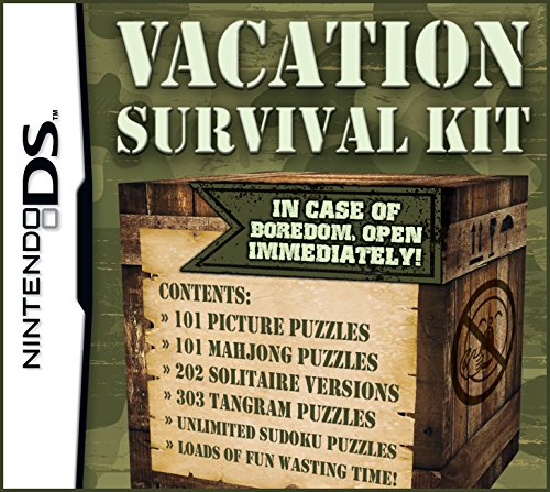 Vacation Survival Kit 1 Nintendo DS product image