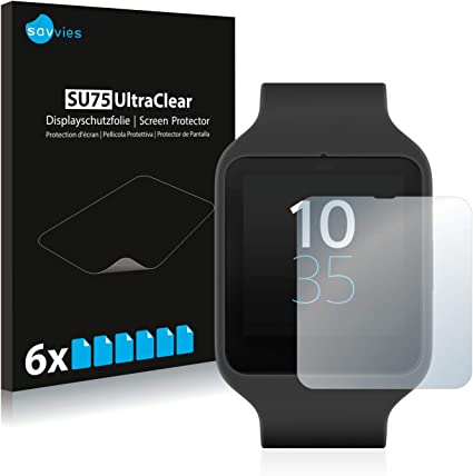 Amazon.com: 6x Savvies SU75 UltraClear Screen Protector for ...
