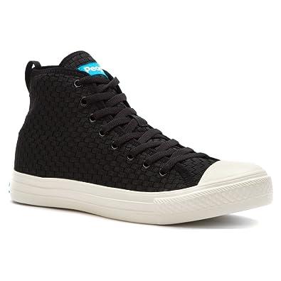 b207f1f264b People Footwear Men s Phillips High Woven Really Black Picket White ...