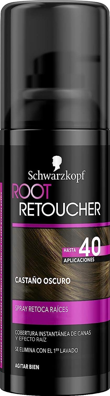 Root Retoucher - Spray Retoca Raíces Color Castaño Oscuro - 2 uds - Schwarzkopf