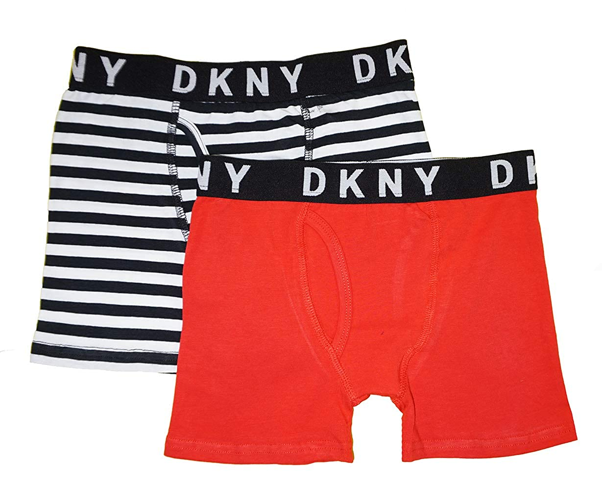 DKNY Boys Big 2 Pack Cotton Boxer Brief