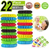 TUCKER ™ Mosquito Repellent Bracelet Band - [320Hrs of Protection] Pest Control Insect Bug Repeller - Natural Indoor/Outdoor Insects - Best Products with NO Spray for Men, Women, Kids, Children (22)
