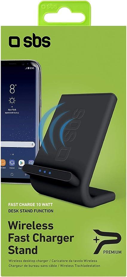 SBS Caricabatterie da scrivania per ricarica Wireless Fast