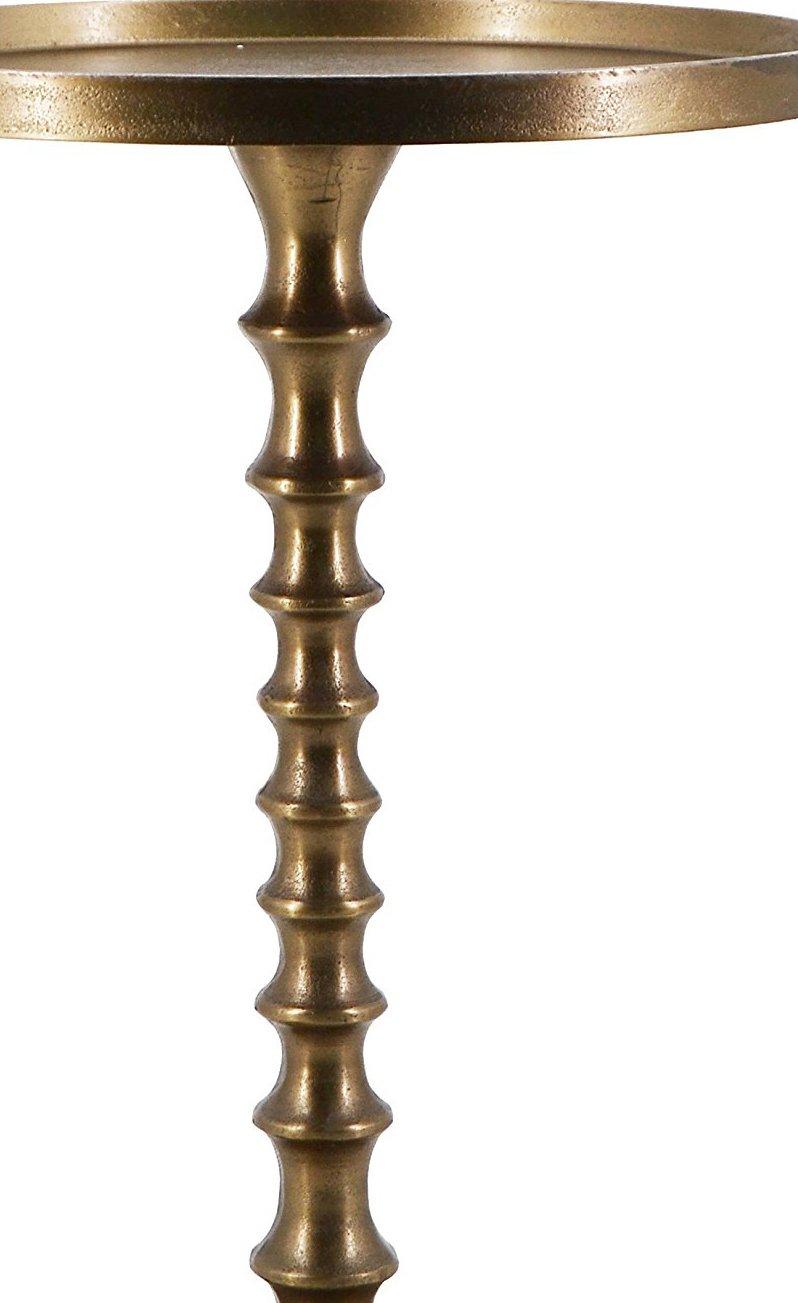 Tavolino Antique con Gambe in Rame Moycor 765041 39x39x55