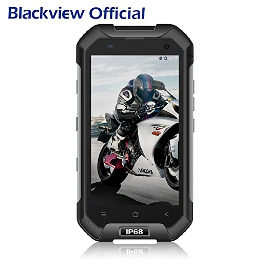 4G Rugged Phone, Blackview BV6000 Android 7.0 Dual SIM Mobile Phone, 4.7u201d HD