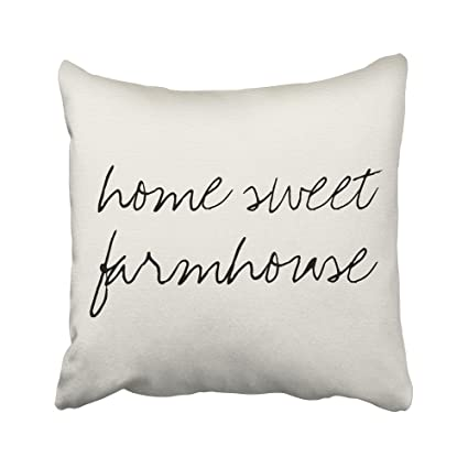 Sneeepee Decorative Pillowcases Vintage Home Sweet Farmhouse 40X40 Fascinating Home Sweet Home Decorative Accessories