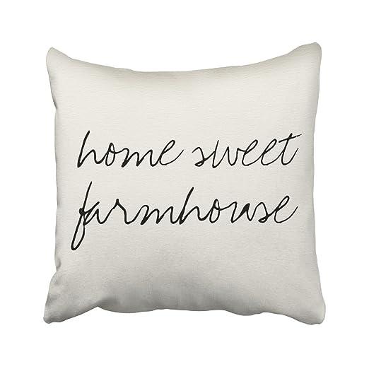 sneeepee decorativo fundas de almohada vintage home sweet ...