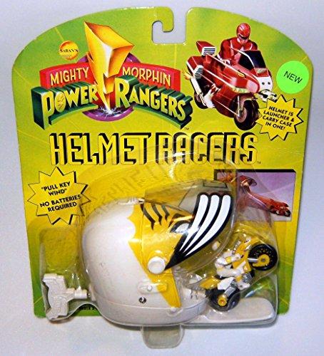 Power Rangers Helmet Racers Yellow Ranger