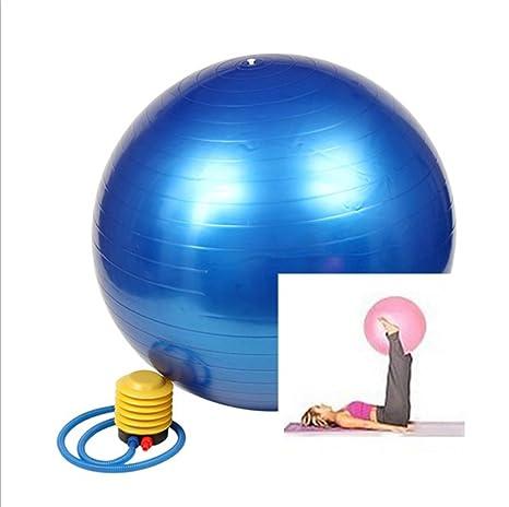 Pelota de ejercicio con bomba de pie bola de la estabilidad y Yoga ...