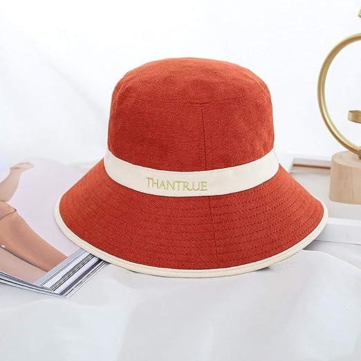 sdssup Sombrero de Pescador Temporada para Mujer Sombrero cálido ...