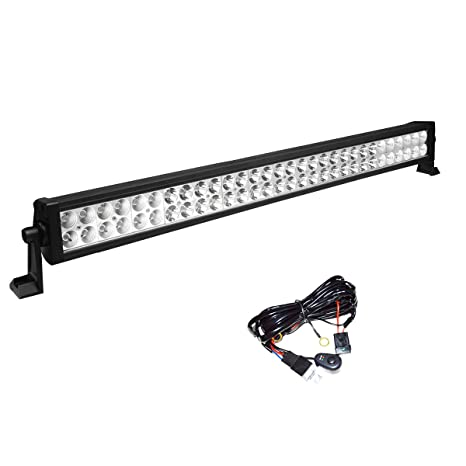 Electrical Simplive 50 Inch 288w 10 30v Curved Led Light Bar Waterproof Flood Spot Combo