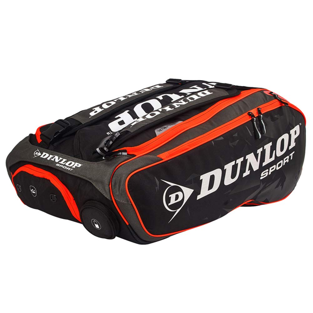 Dunlop 12R Badminton Racket Bag, Tennis Racquet Bag, Badminton Backpack, Tennis Backpack, Shoulder Bag