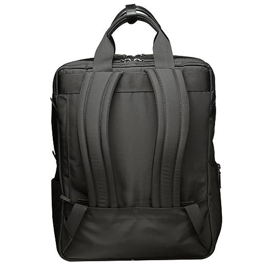 """4c6128b9f45a Amazon.co.jp: MANHATTAN PASSAGE(マンハッタンパッセージ)#8550 """"Lux 2"""" シティバックパック (ブラック):  シューズ&バッグ"""
