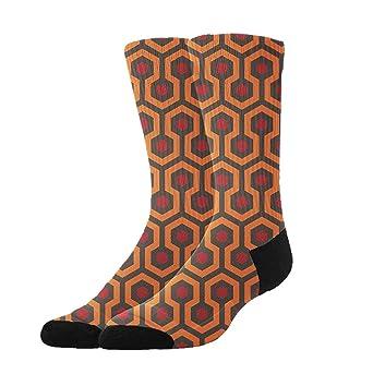 1b0db945e930e Amazon.com: COLOMAKE Shining Overlook Hotel Athletic Socks Knee High Socks  for Men & Women Sport Long Sock Tube Long Stockings Christmas Socks:  Industrial & ...