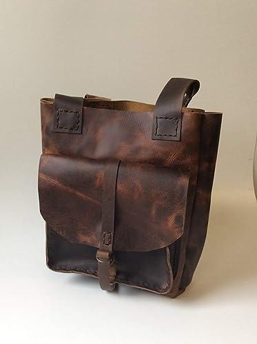 6fe70a00e7 Amazon.com  Leather Tote Bag