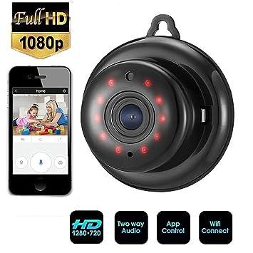 Cámara espía Oculta, HD 1080P con Red inalámbrica WiFi ...