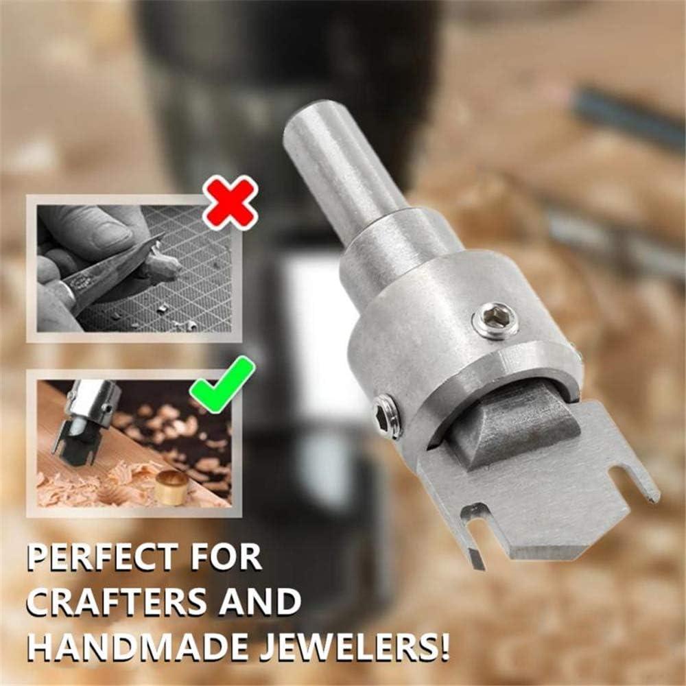 6 PC-Ringbohrer Multifunktions-Holz-Dickringmacher Hochgeschwindigkeits-Stahlbohrer Holzwerkzeuge Spatenbohrer Haushaltsgartenger/äte Schleifwerkzeug