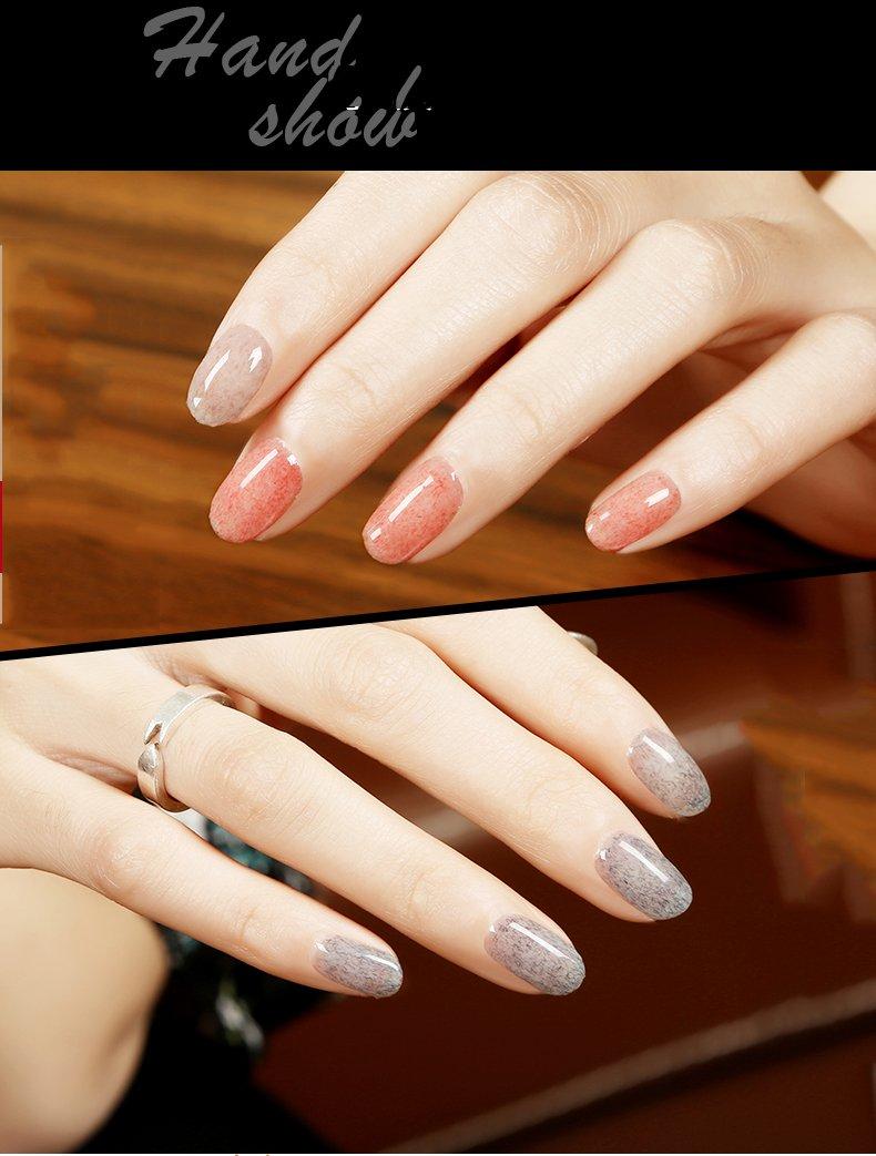 JOLIGEL 10ml Esmalte en Gel para Uñas Manicura Semipermanente Soak-Off UV LED Efecto Saburra Romántico Elegante, Resina Natural, Rosa #3801: Amazon.es: ...