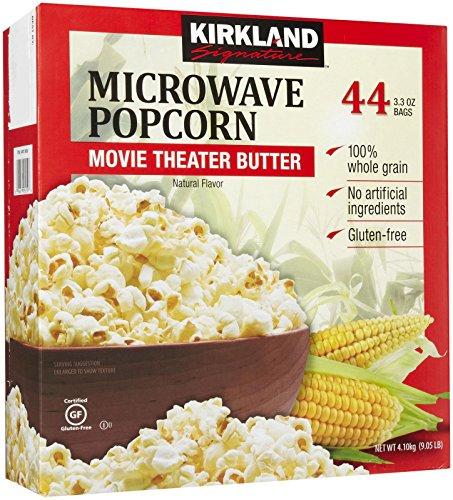 Kirkland Signature Microwave Popcorn, 3.3 oz, 44 Count ()