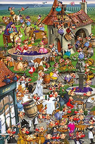 Пазл Wine Making 1000 Piece Jigsaw