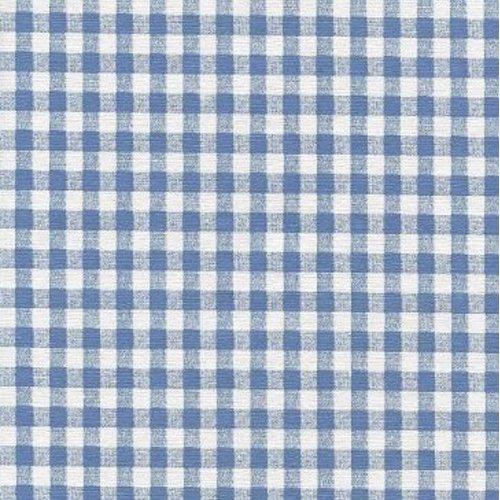 "WNA Blue Gingham Check Series F0251 Vinyl Tablecloth 54"" ..."