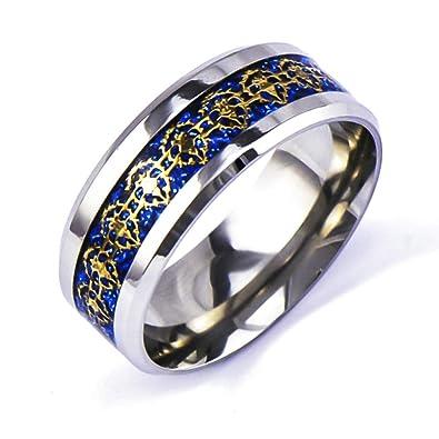 Amazon.com: Sping Jewelry Blue World of Warcraft Alianza ...