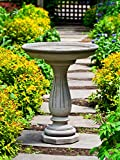 Campania International B-156-VE Windmoore Birdbath, Verde Finish