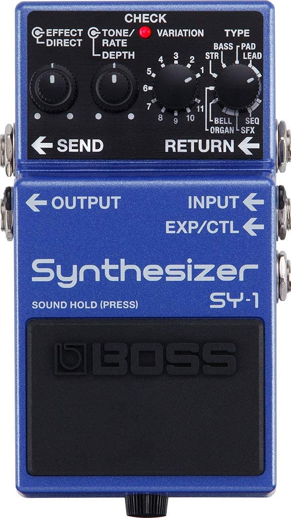 BOSS SY-1 Pedal sintetizador de guitarra