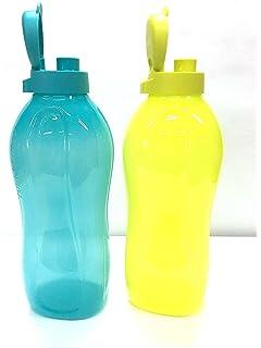 Botellas de agua dispensadoras de agua fría de 2 litros marca Tupperware, set de 2
