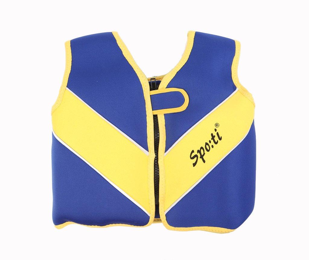 新規購入 Genwiss赤ちゃんSwimビーチブルーベストライフジャケットスーツ18 Large months-7年& Swim B0150EYYHA Armsフローティング Large ブルー Swim B0150EYYHA, 太地町:6d23d06b --- a0267596.xsph.ru