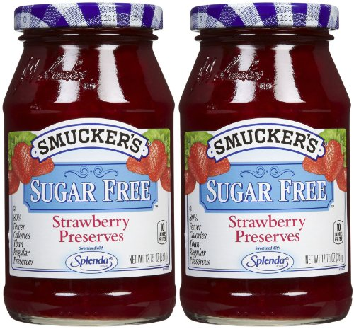 (Smucker's Sugar Free Strawberry Preserves, 12.75 oz, 2 pk)