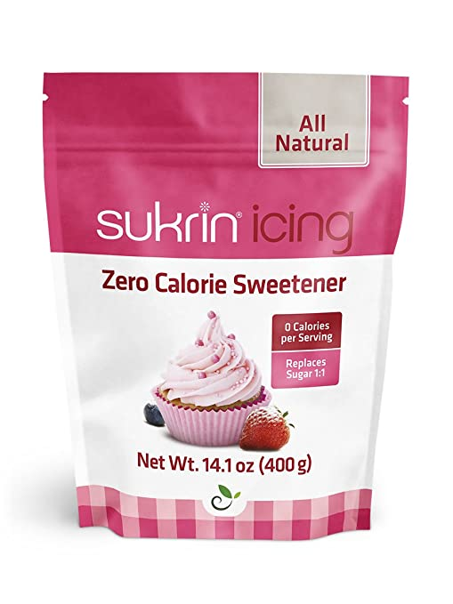 ab9fb34c Amazon.com : Sukrin Icing (Melis) - 400 G All Natural Powdered Sugar  Substitute (1 Pack) : Grocery & Gourmet Food