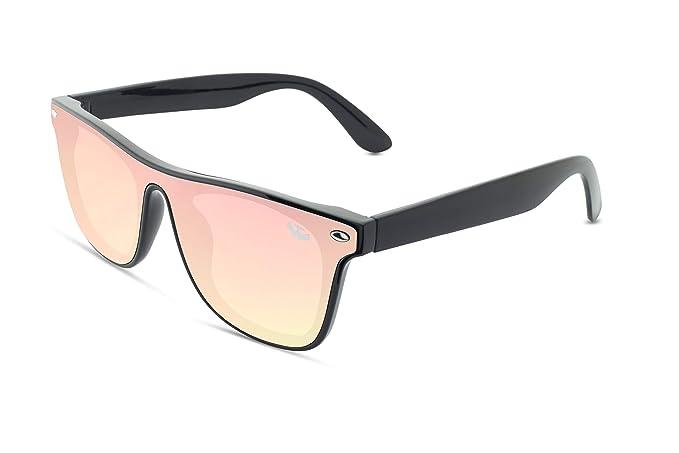 Gafas sol lente plana MOSCA NEGRA ® modelo T-ZONE Pink ...