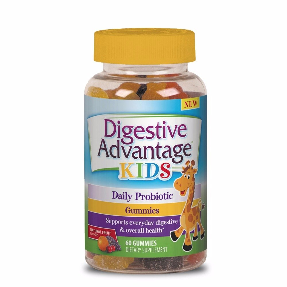 Digestive Advantage Kids Daily Probiotic Gummies, 60 count  (Pack of 8)