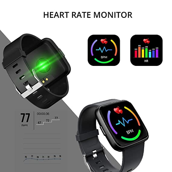PRIXTON - Reloj Inteligente/Smart Band para Hombre y Mujer ...