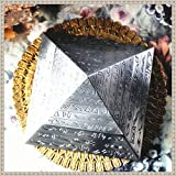 Unique Exquisite Windproof Pyramid Ashtray with Bas