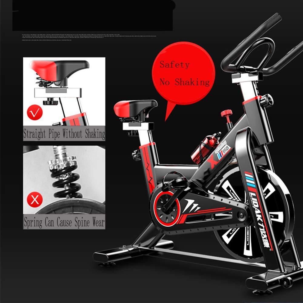 JLSYYCC Bicicleta De Giro Silenciosa, Bicicleta Estática para ...