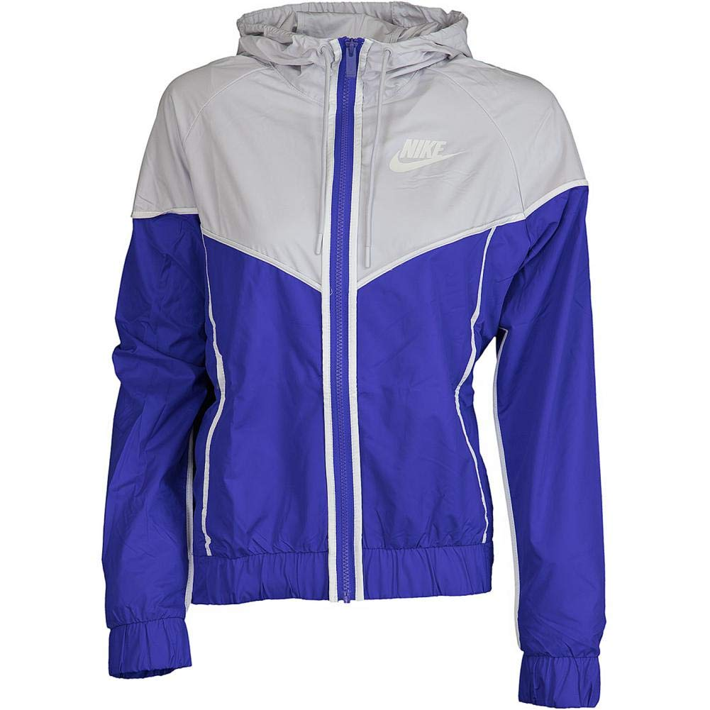 Nike Womens Windrunner Track Jacket Persian Violet/Vast Grey/Sail 883495-518 Size Small by Nike