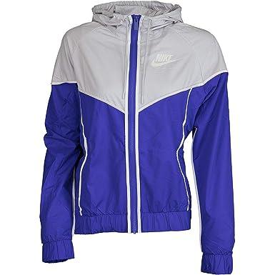 21485cdb25 Nike Sportswear Windrunner Veste Coupe Vent Femme Violet: Amazon.fr ...