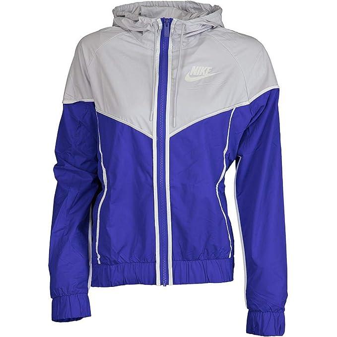 Nike - Chaqueta - para Mujer Violet/Grey L: Amazon.es: Ropa ...