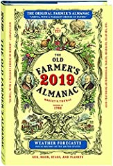 "It's another new year celebrating everything under the Sun, including the Moon, with The Old Farmer's Almanac, America's oldest continuously published periodical! Always timely, topical, and distinctively ""useful, with a pleasant degre..."