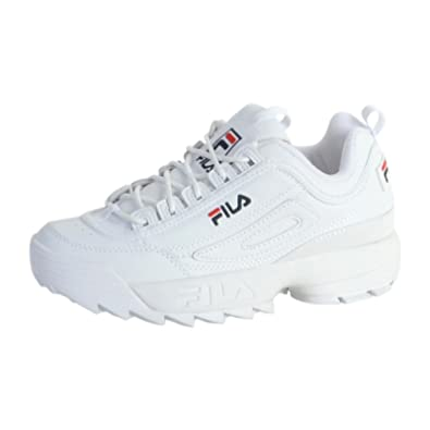 Fila Sneakersball Bags WhiteAmazon co ukShoesamp; Disruptor Low j4A3L5R