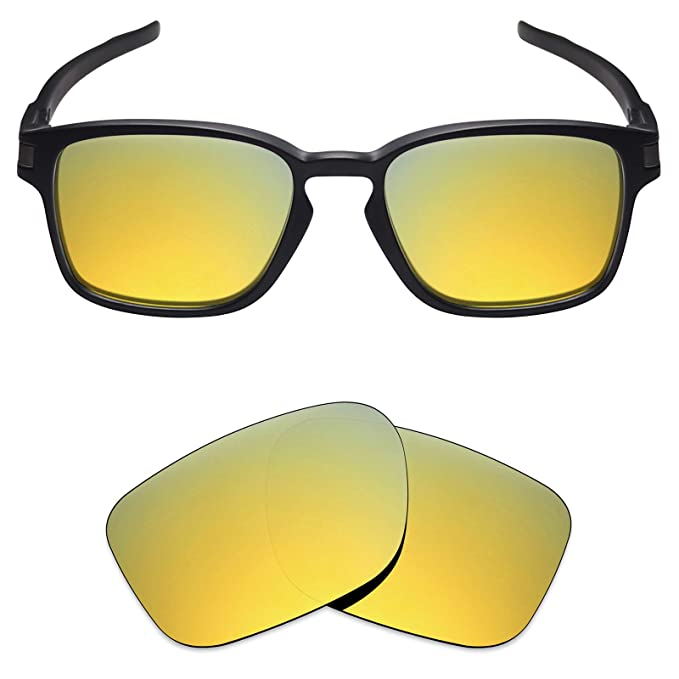 de9950dba2 Mryok Polarized Replacement Lenses for Oakley Latch SQ - 24K Gold at ...