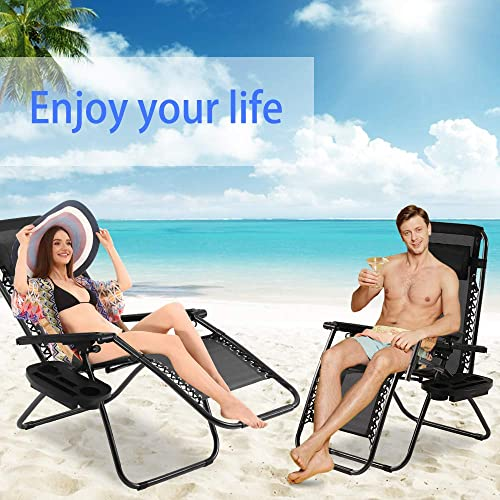 Deal of the week: Zero Gravity Chair Patio Lounge Recliners Adjustable Lounge Outdoor Chairs